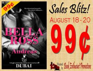 bella ross sale banner