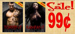 sale banner gemma james