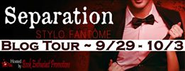 separation blog tour banner