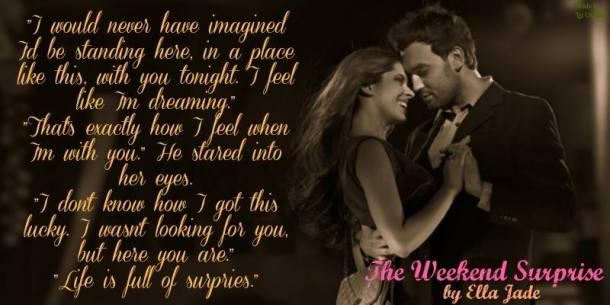 The Weekend Surprise - teaser 1