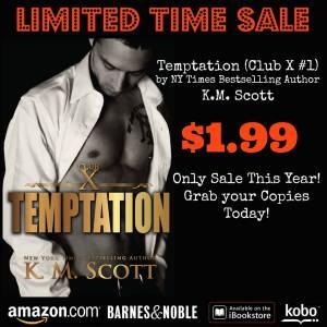 temptation sale