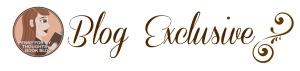 Blog Exclusive