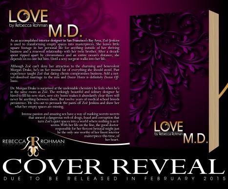 Love M.D. by Rebecca Rohman Cover Reveal 1
